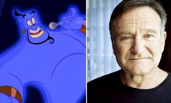 Robin Williams – Genie from Aladdin