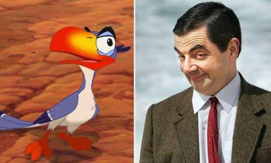 Rowan Atkinson – Zazu from The Lion King