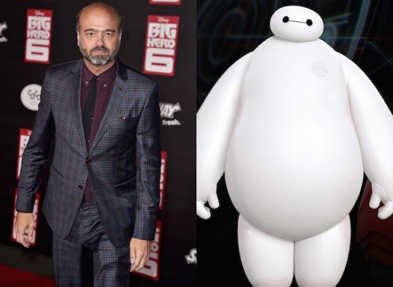 Scott Adsit – Baymax from Big Hero 6