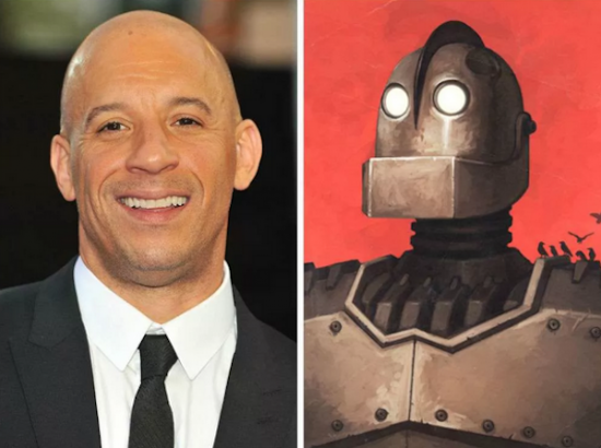 Vin Diesel – The Iron Giant