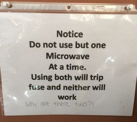 Funny office notes 1