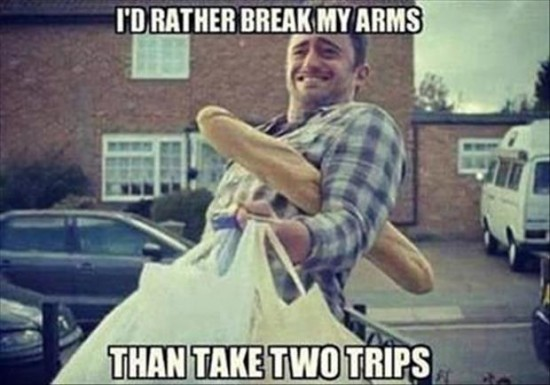 carrying-groceries
