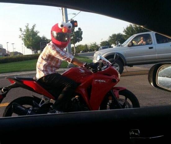 elmo-biker