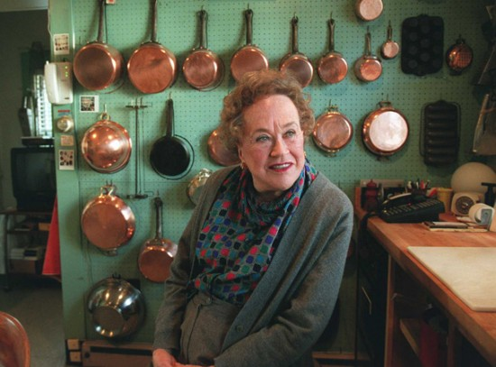 Julia Child At Her Home In Cambridge, Mass.