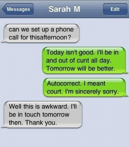 25 funniest autocorrect fails of the year 007
