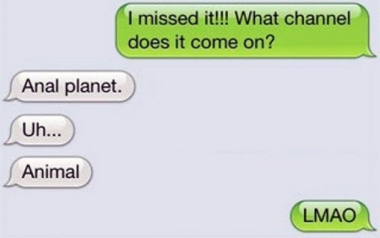 25 funniest autocorrect fails of the year 009