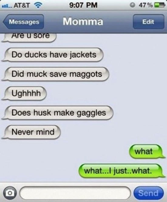25 funniest autocorrect fails of the year 013