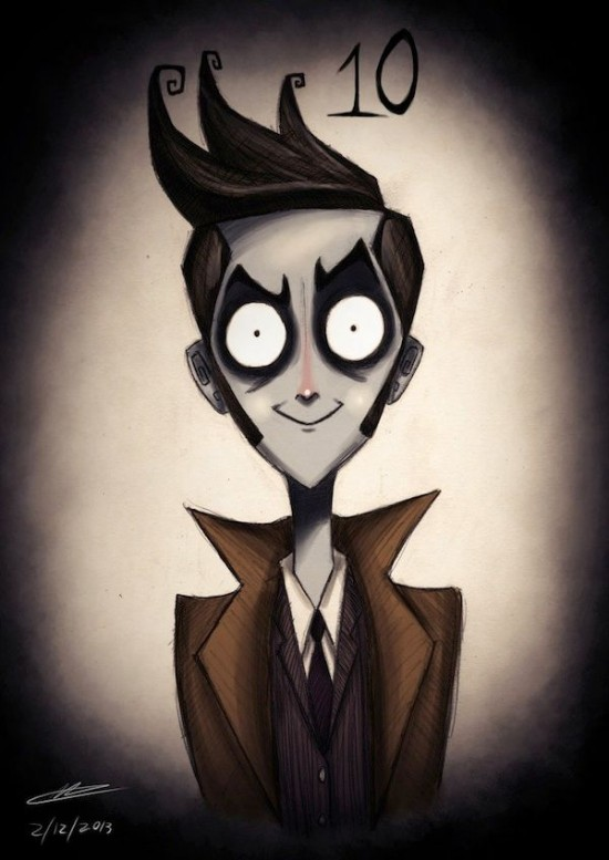 Doctor Who Characters In The Style of Tim Burton002