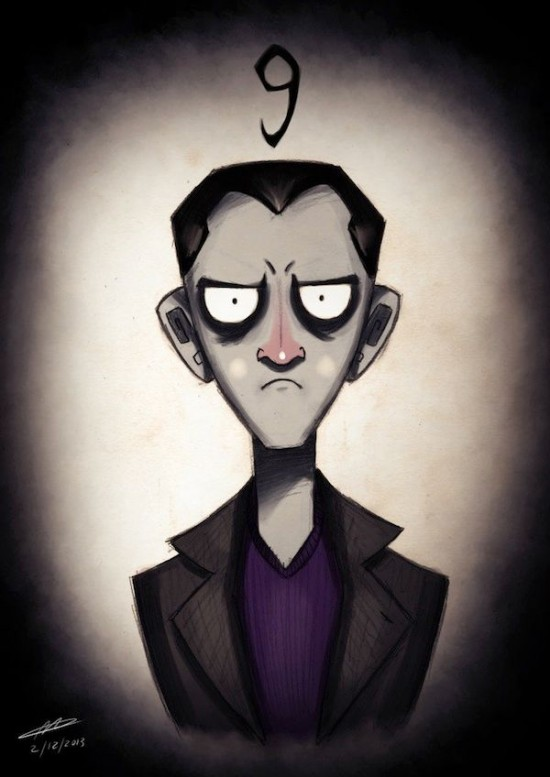 Doctor Who Characters In The Style of Tim Burton003