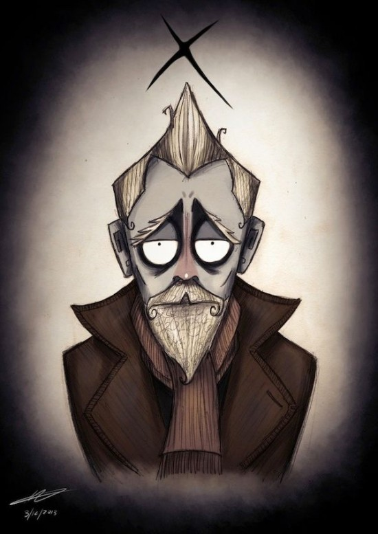 Doctor Who Characters In The Style of Tim Burton004