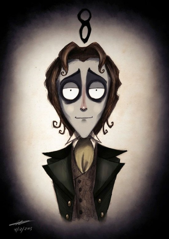 Doctor Who Characters In The Style of Tim Burton005