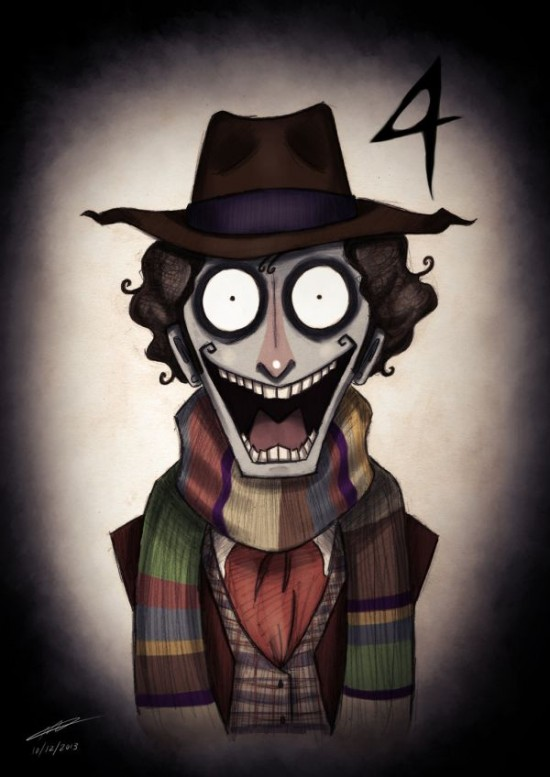 Doctor Who Characters In The Style of Tim Burton009