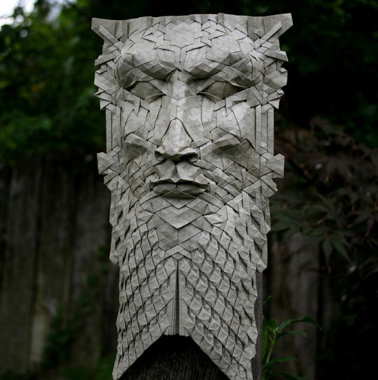 New Tessellated Origami Masks by Joel Cooper 002