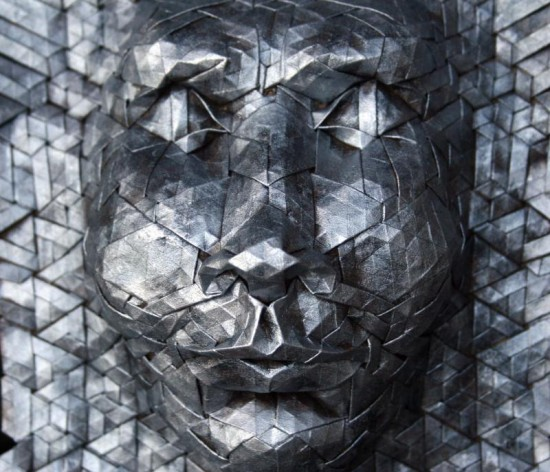 New Tessellated Origami Masks by Joel Cooper 007