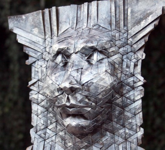 New Tessellated Origami Masks by Joel Cooper 008