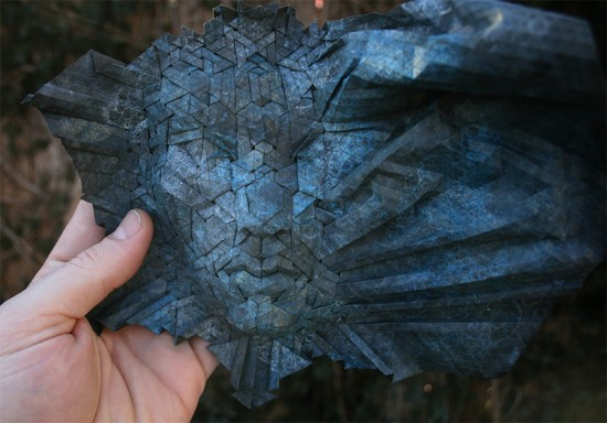 New Tessellated Origami Masks by Joel Cooper 009