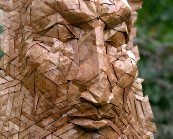 New Tessellated Origami Masks by Joel Cooper 010