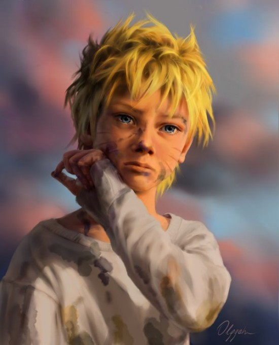 Realistic Naruto Characters Fan Art 6 Photos Funcage