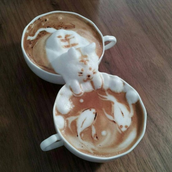 11 Amazingly Creative Coffee Froth 001