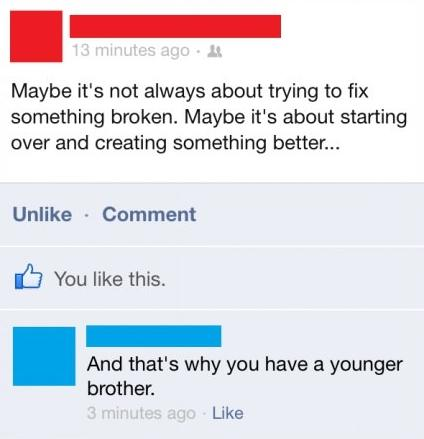 15 Facebook Updates That Are Actually Worth Reading 005