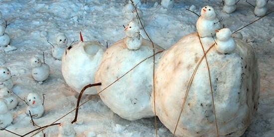22 Funny and creative snowman ideas 004