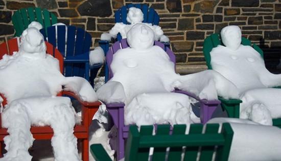 22 Funny and creative snowman ideas 007