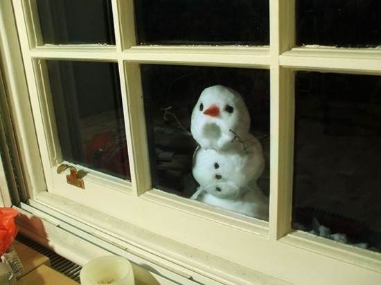 22 Funny and creative snowman ideas 008