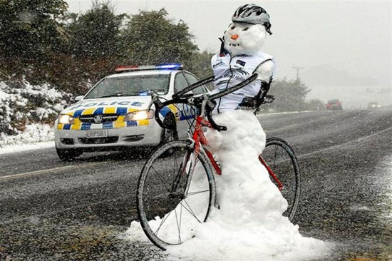 22 Funny and creative snowman ideas 011