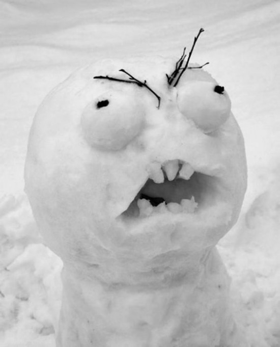 22 Funny and creative snowman ideas 019