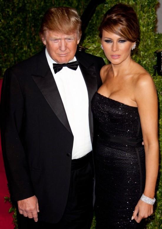 Donald Trump & Melania Knauss