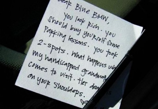 22 Funny and furious windshield notes 005