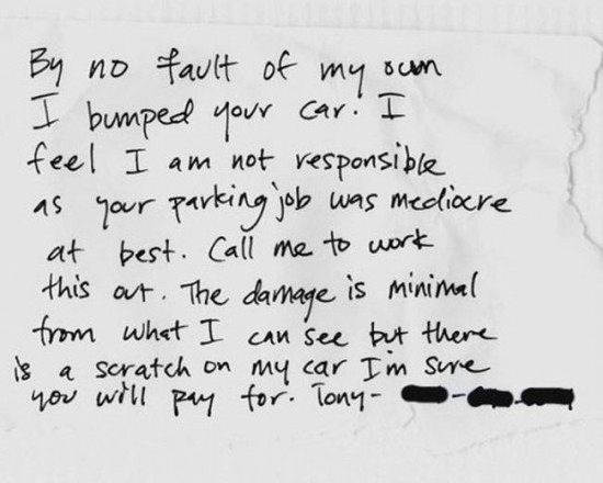 22 Funny and furious windshield notes 007