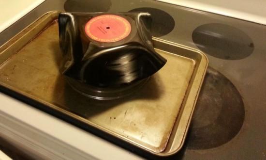 DIY vinyl record bowls 005