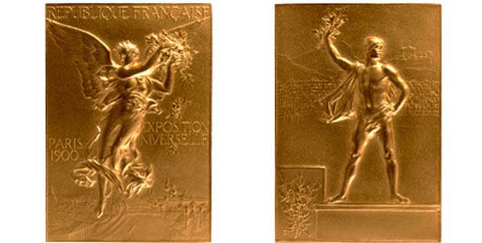 The Evolution of Olympic gold medals from the past 118 years 002