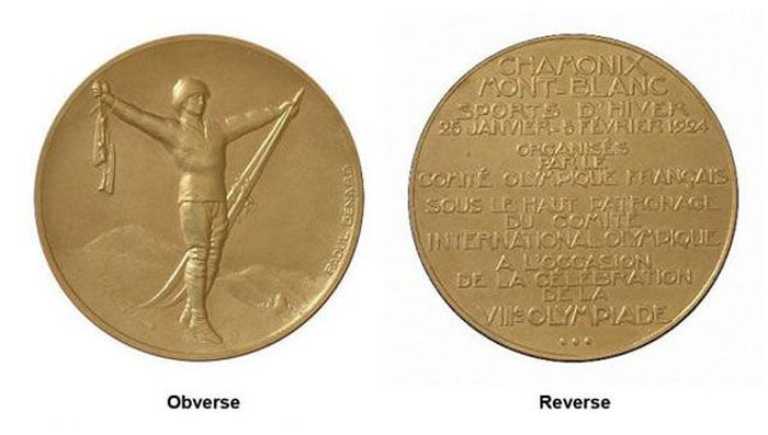 The Evolution of Olympic gold medals from the past 118 years 007