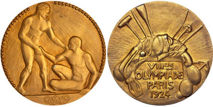 The Evolution of Olympic gold medals from the past 118 years 008