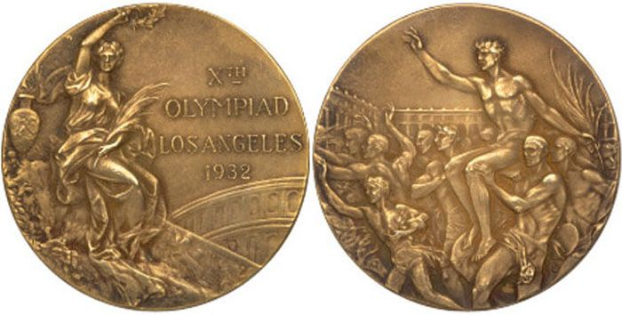 The Evolution of Olympic gold medals from the past 118 years 012