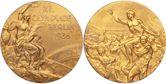 The Evolution of Olympic gold medals from the past 118 years 013