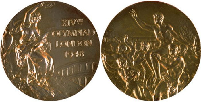 The Evolution of Olympic gold medals from the past 118 years 015