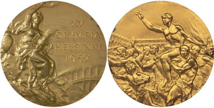 The Evolution of Olympic gold medals from the past 118 years 017