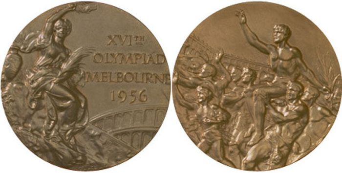 The Evolution of Olympic gold medals from the past 118 years 020