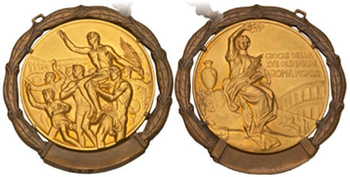 The Evolution of Olympic gold medals from the past 118 years 021