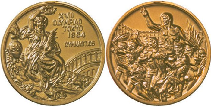 The Evolution of Olympic gold medals from the past 118 years 024