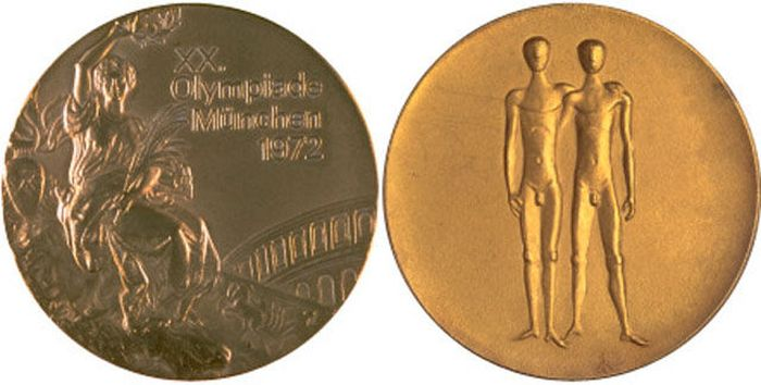 The Evolution of Olympic gold medals from the past 118 years 027