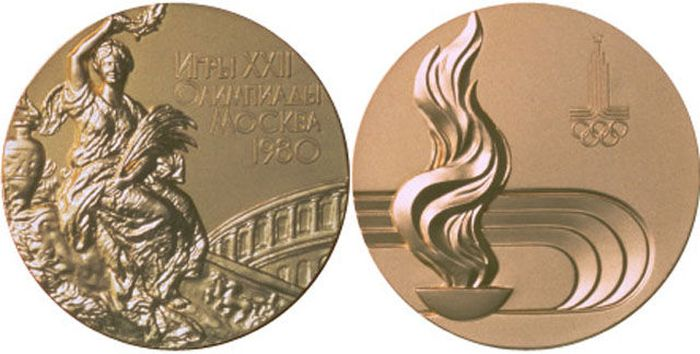 The Evolution of Olympic gold medals from the past 118 years 032