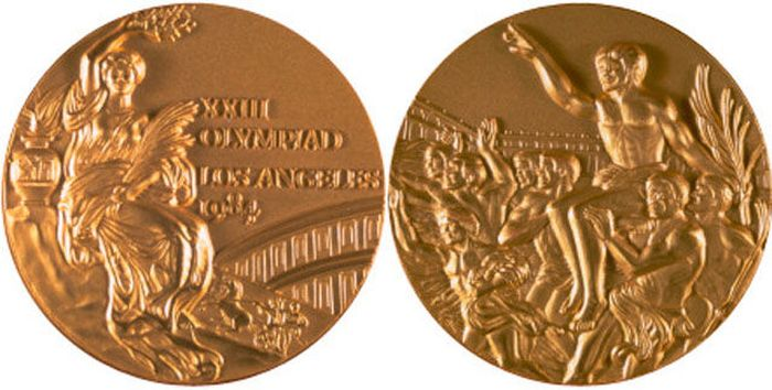 The Evolution of Olympic gold medals from the past 118 years 033