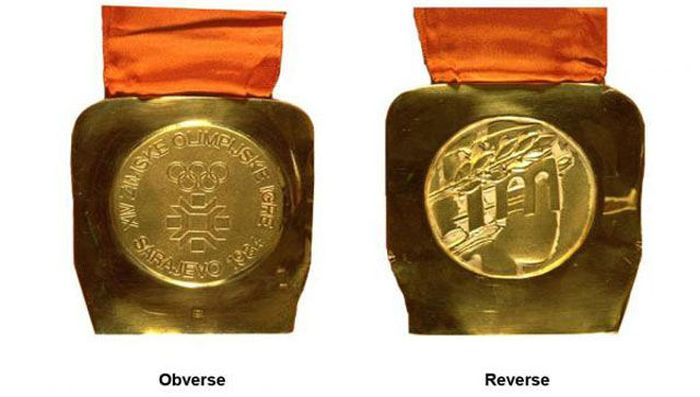 The Evolution of Olympic gold medals from the past 118 years 034