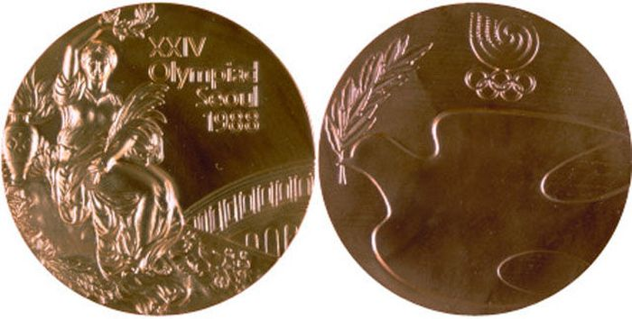 The Evolution of Olympic gold medals from the past 118 years 036