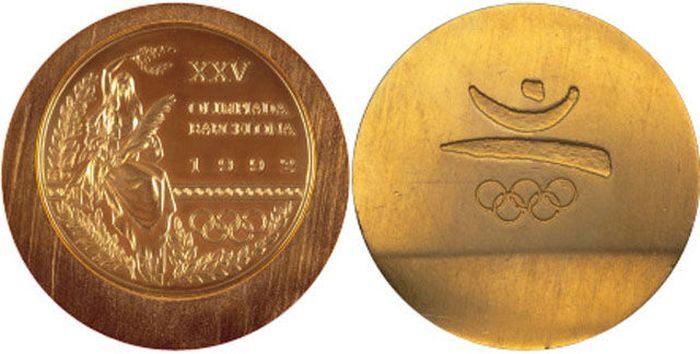 The Evolution of Olympic gold medals from the past 118 years 038