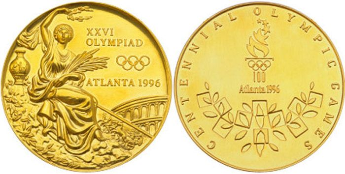 The Evolution of Olympic gold medals from the past 118 years 040